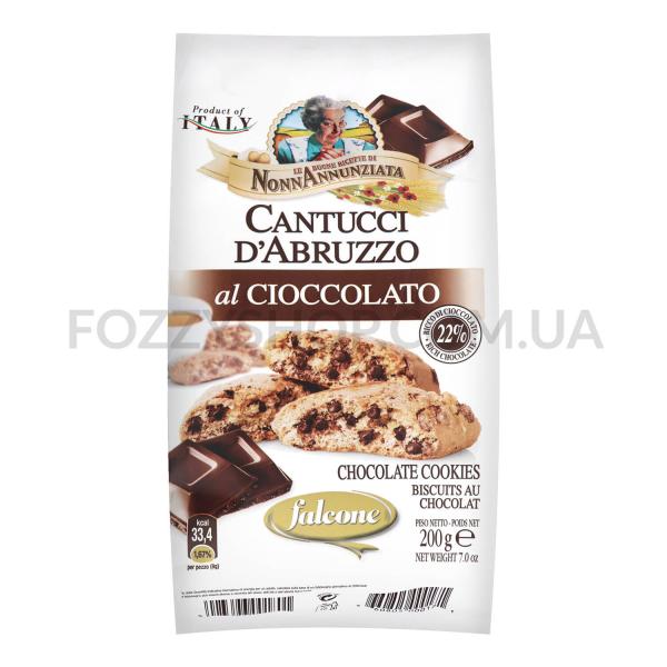 Печенье Falcone Кантучини с шоколадом