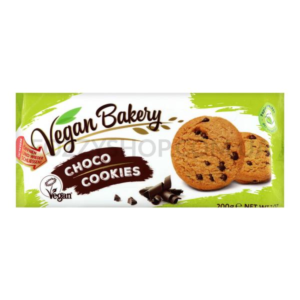 Печенье Coppenrath Vegan Bakery с шоколадн каплями