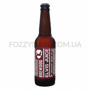 Пиво BrewDog Elvis Juice янтарное