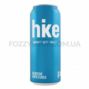 Пиво Hike Blanche светлое ж/б