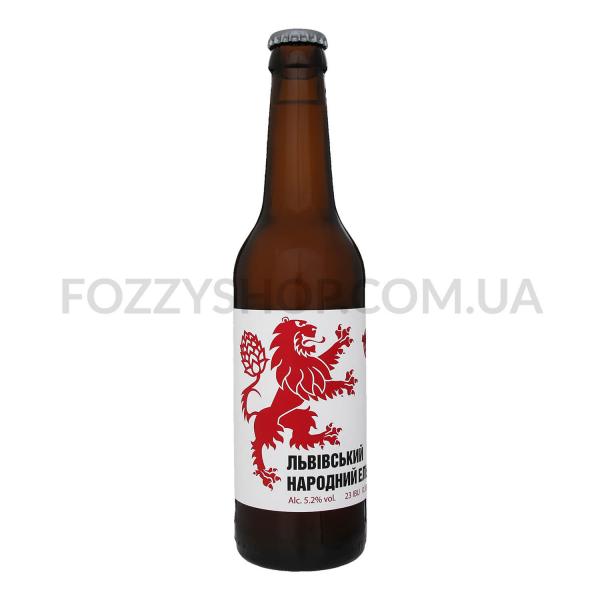 Пиво Правда Львовський народний эль светл нефильтр