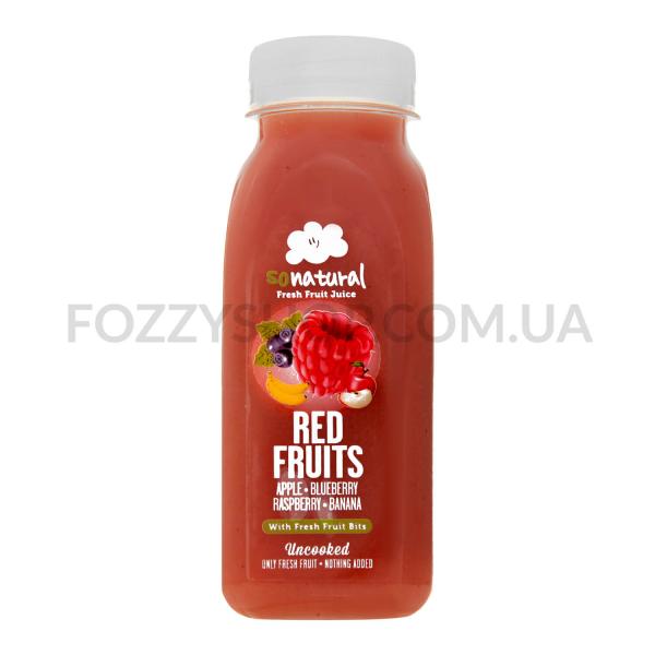 Сок Sonatural красные фрукты