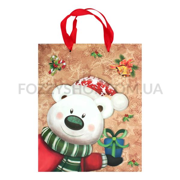 Пакет д/подарка Happy.com бумажн.26*32см XGBL11В