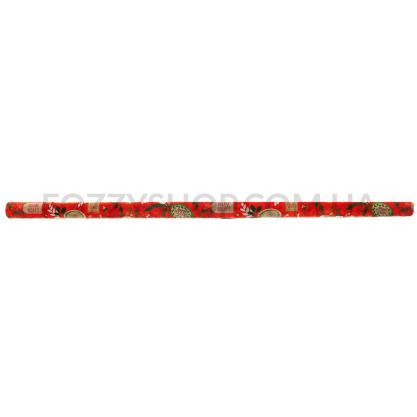 Бумага д/подарка ФайнопаК Рождество 1,5*0,7м