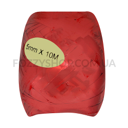 Лента д/подарка Happy.com Кокон металик 5мм*10м