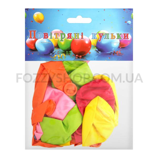 Н-р шаров воздушных цветных металл d25см 15шт D1