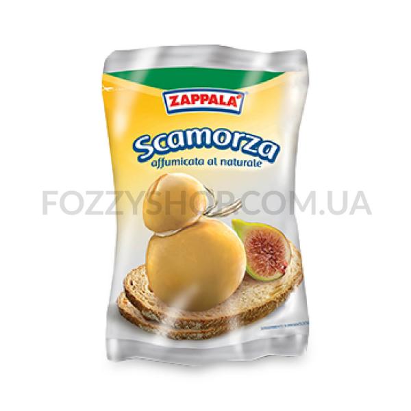 Сыр Zappala Скаморца копченый 45% кор/мол