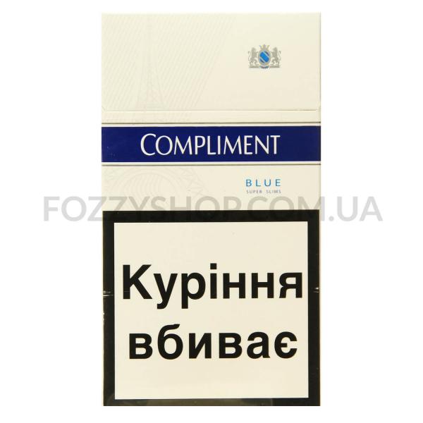 Сигареты Compliment Super Slim Blue