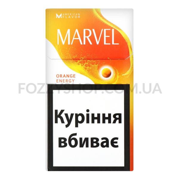 Сигареты Marvel Orange Energy