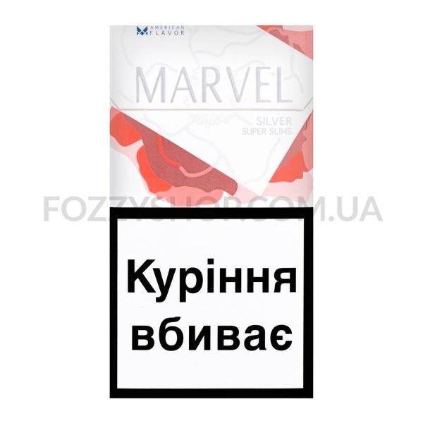 Сигареты Marvel Silver Super Slims