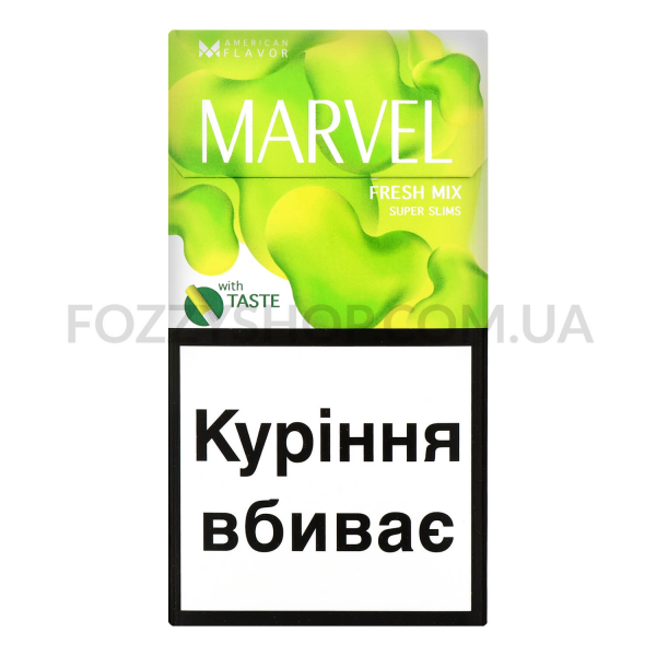 Сигареты MarvelFreshMixSuper Slims