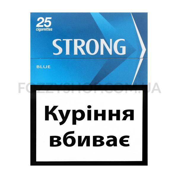 Сигареты Strong blue 25