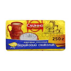 Маргарин Смачно як завжди Сливоч вкусняшка70%фол