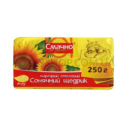 Маргарин Смачно як завжди Солнечный Щедрик 70% фол