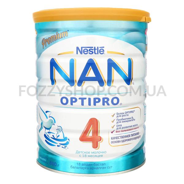 Смесь NAN 4 Optipro молочная сухая