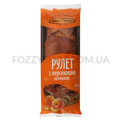 Рулет Київхліб с персиковой начинкой