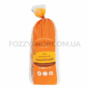 Хлеб Київхліб Семейный пшеничный 600г