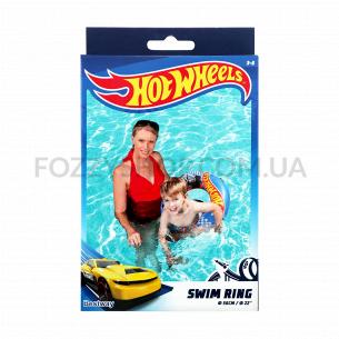 Круг д/плавания Bestway Hot Wheels надувной 56см