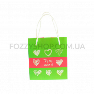 Пакет подарочный Fox Family Small present bag