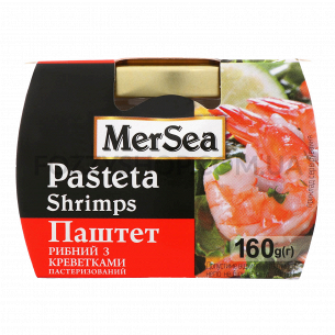 Паштет MerSea с креветками