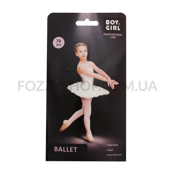 Колготки детские Boy&Girl Ballet 70 white р140-146