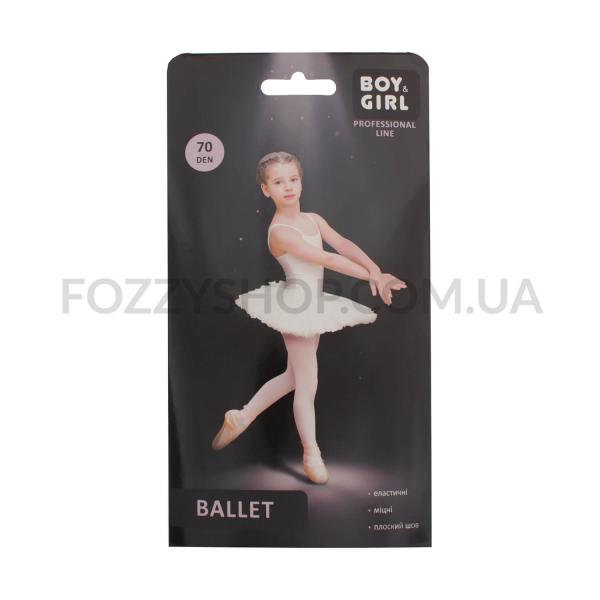 Колготки детские Boy&Girl Ballet 70 white р152-158
