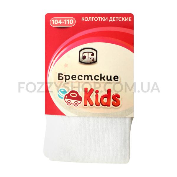 Колготки детские Брестские 3280 000 белый р104-110