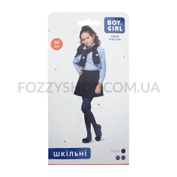 Колготки дет Boy&Girl Geometry 90 d.blue р.140-146