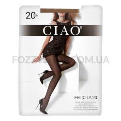 Колготки женские Ciao Felicita 20 miele р.4