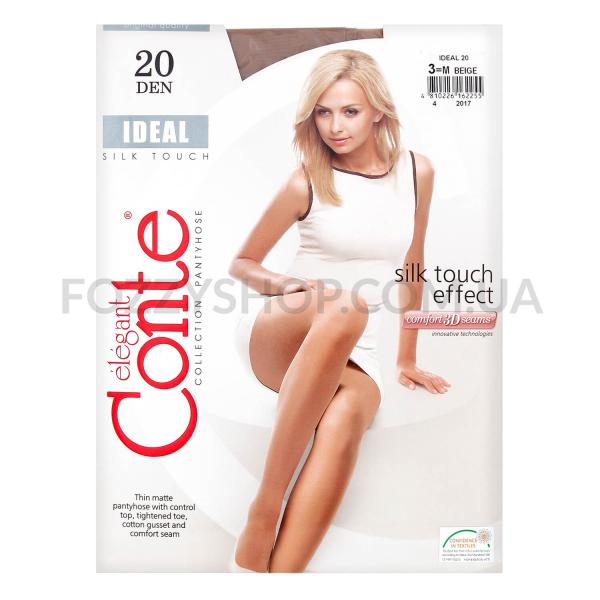 Колготки женские Conte Elegant Ideal 20 beige р.3