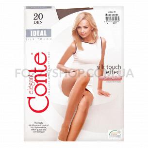 Колготки женские Conte Elegant Ideal 20 bronz р.3