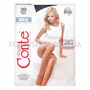 Колготки женские Conte Elegant Ideal 20 nero р.3