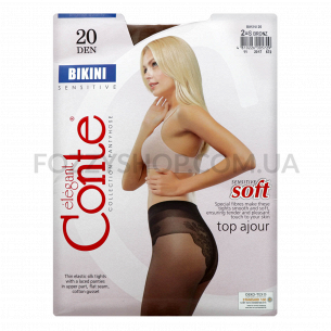 Колготы Conte Bikini 20 Den р.2 bronz
