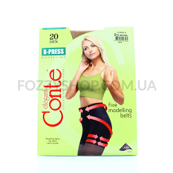 Колготы Conte X-press 20 Den р.2 natural