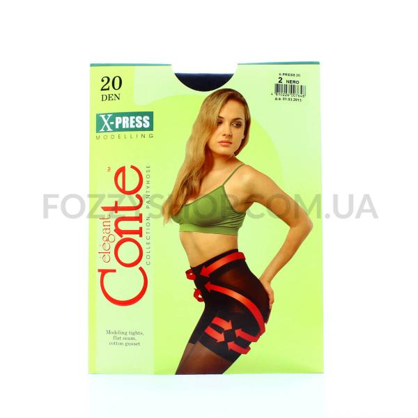 Колготы Conte X-press 20 Den р.2 nero