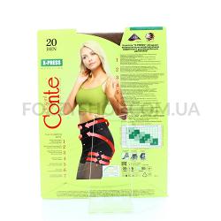 Колготы Conte X-press 20 Den р.3 bronz