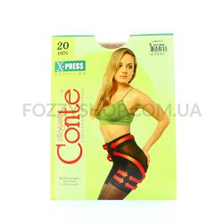 Колготы Conte X-press 20 Den р.3 natural
