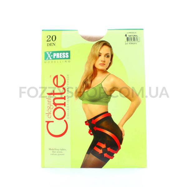 Колготы Conte X-press 20 Den р.4 natural