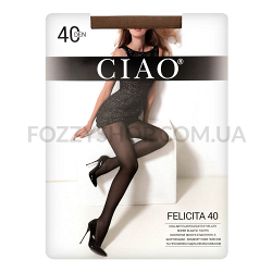Колготки женские Ciao Felicita 40 miele р.3