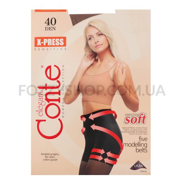 Колготы Conte X-press 40 Den р.2 bronz