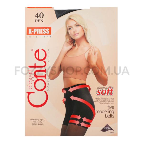 Колготы Conte X-press 40 Den р.4 nero