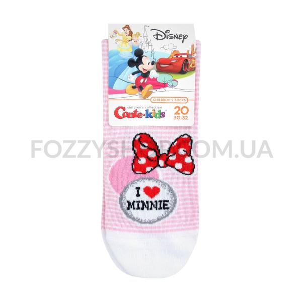 Носки дет Conte-kids Disney 17С126 с.розов р20 350