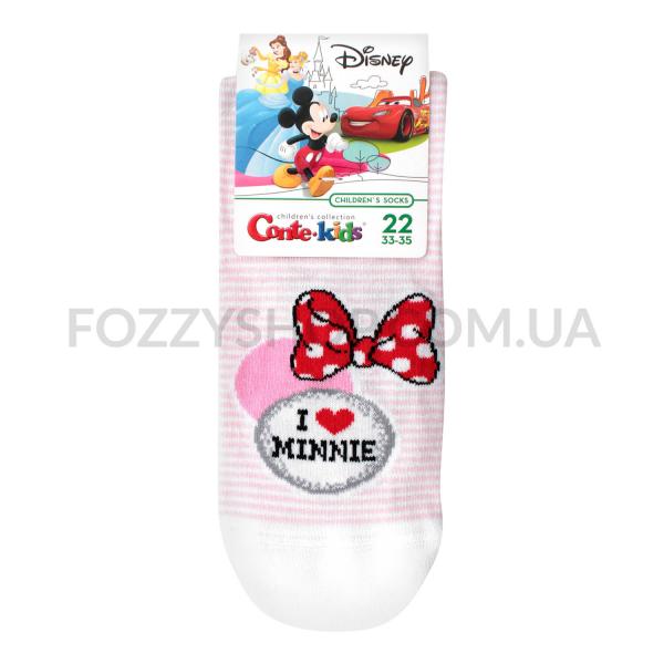 Носки дет Conte-kids Disney 17С126 с.розов р22 350