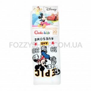 Носки дет Conte-kids Disney 17С170 белый р20 370