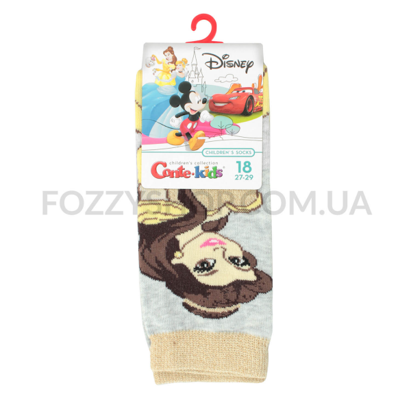 Носки дет Conte-kids Disney17С138 св.серый р18 387