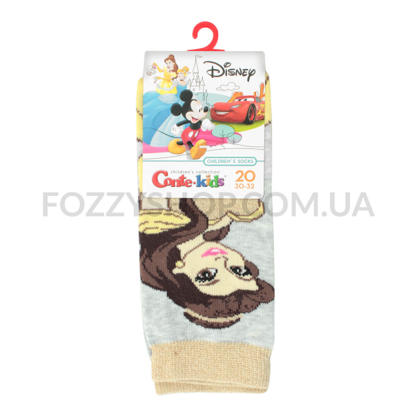 Носки дет Conte-kids Disney17С138 св.серый р20 387