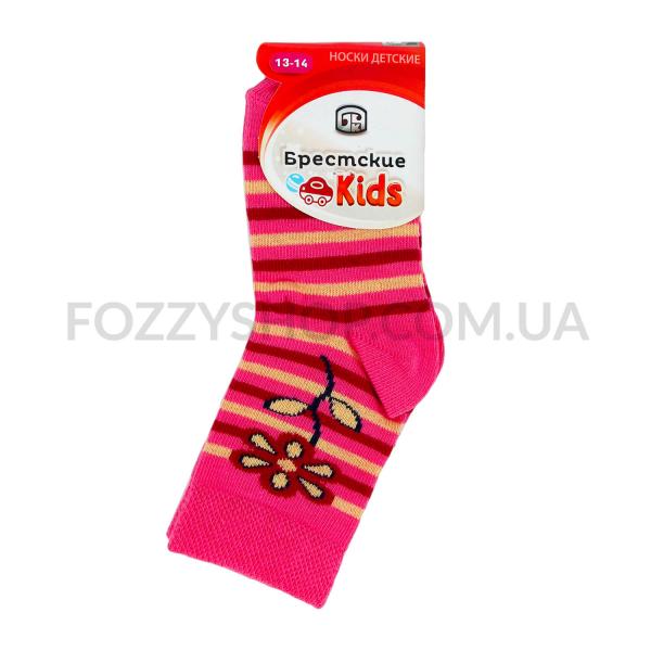 Носки детские Брестские 3081 029 т.розовый р.13-14