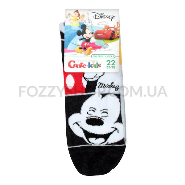 Носки дет Conte-kids Disney 17С126 чер/сер р22 348