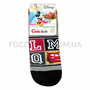 Носки дет Conte-kids Disney 17С136 серый р20 367