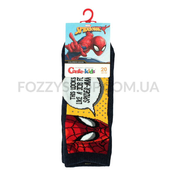 Носки дет Conte-kids Marvel 17С133 т.синий р20 358